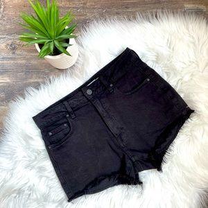 🌺Aritzia Talula high waisted cut off jean shorts